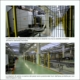 GUARD FENCING OF A PISTON ROD PRODUCTION LINE